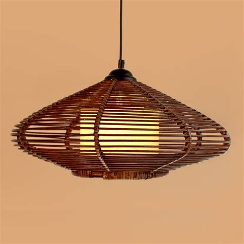 Handmade Light Fixtures - aliexpress buy new brown handmade modern rattan