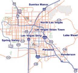 Map Of Las Vegas Area by Las Vegas Nevada Tourist Destinations