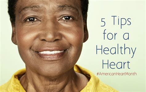 5 tips for a healthy heart during american heart month