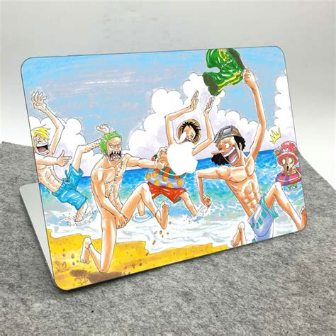 Anime 8 Cover Stiker Laptop 11 12 14 15 Inch Garskin Laptop anime one straw hat top decal
