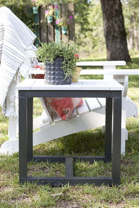 diy outdoor side table pottery barn knockoff