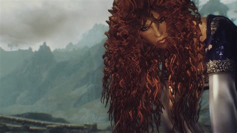 Merida Hair With Physics At Skyrim Nexus Mods And Community | merida hair with physics at skyrim nexus mods and community