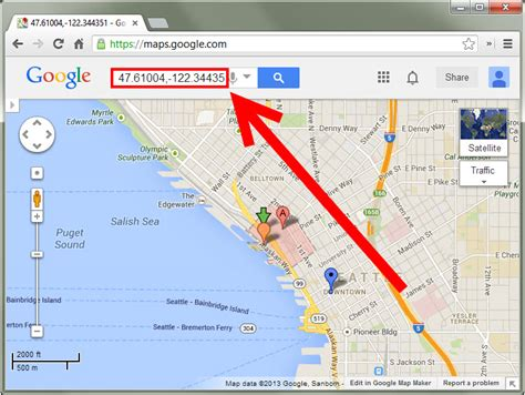 Address Map Finder How To Find The Gps Coordinates Of An Address Using Maps