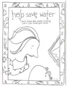 preschool coloring pages water 88 best images about kids conservation activities on
