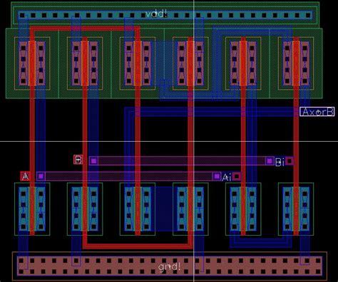 xor layout cadence lab 6