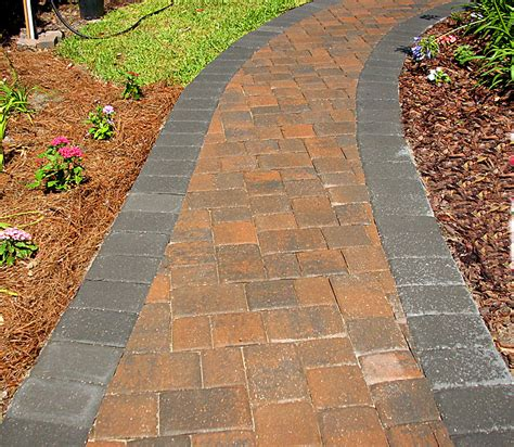 brick paver walkways sidewalks enhance pavers brick paver installation jacksonville