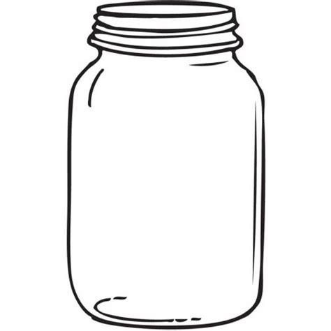 mason jar coloring page sketch coloring page
