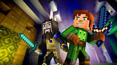 minecraft story mode minecraft story mode episode 8 a journey s end out now