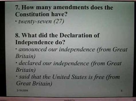 preguntas en ingles y espanol de la ciudadania examen de ciudadan 237 a americana 1 preguntas 1 25 youtube