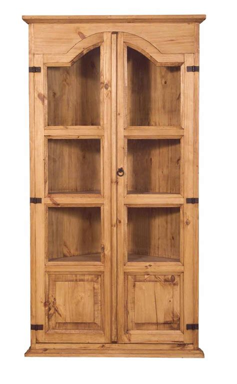 corner kitchen hutch cabinet unfinished tall kitchen corner rustic pine corner cabinet