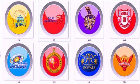 ipl 2016 all teams logo ipl 8 2015 points table pepsi ipl indian premier league