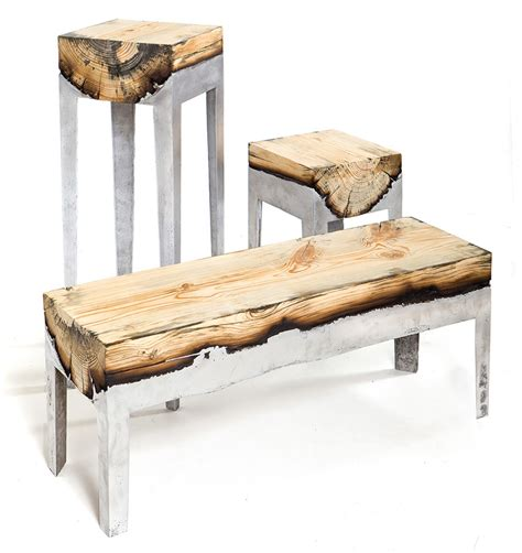 gorgeous furniture gorgeous furniture that seamlessly combines wood and cast