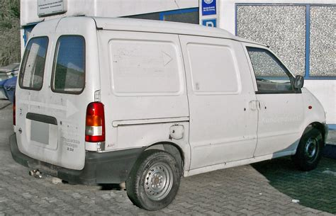 Blue Print Software file nissan vanette cargo rear 20071007 jpg wikimedia
