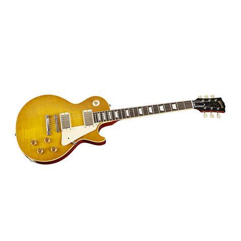 Gitar Gibson Les Paul 128 gibson 2014 1959 les paul reissue vos lemonburst