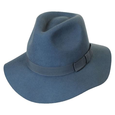 brixton hats indiana wool felt floppy fedora hat fedoras