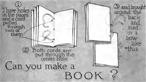 How To Make A Book Out Of Paper - book crafts for ideas for arts crafts