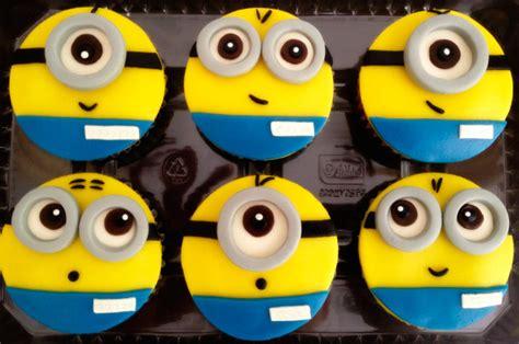 imagenes minions cupcakes 6 cupcakes de los minions en masa el 225 stica lince