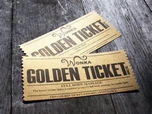 Pinterest willy wonka chocolate factory and golden ticket template