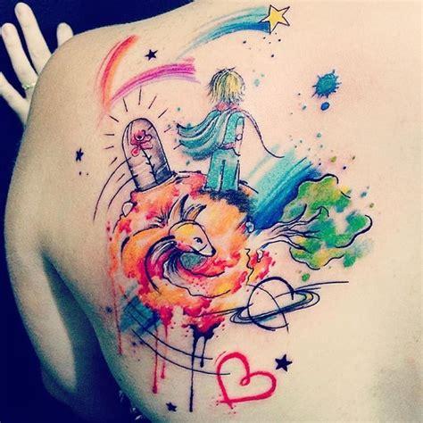 o pequeno pr 237 ncipe em aquarela tattoos pinterest ems