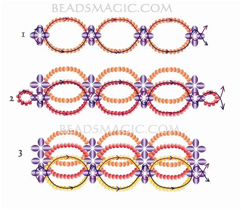 beaded choker necklace patterns free pattern for beaded choker magic