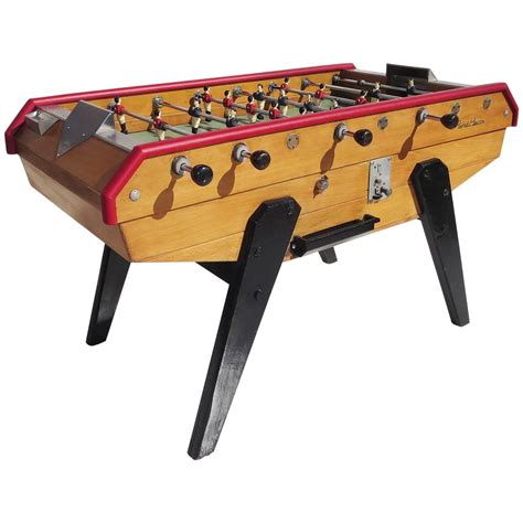 mid century foosball table by rene for sale