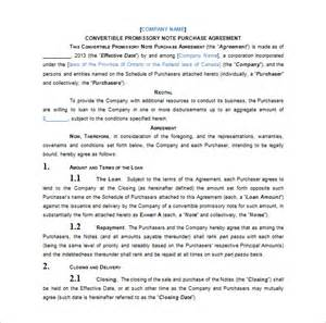 Convertible Loan Agreement Template promissory note template 36 free word pdf format