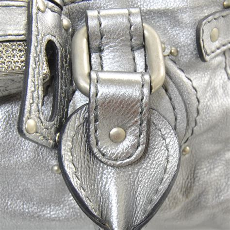 Still The Paddingtons In Silver Metallic by Leather Lock Paddington Metallic Silver 19477