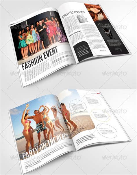 magazine layout structure creative magazine layout design ideas entheos