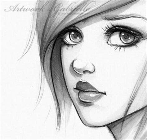 beautiful girl draw art pinterest