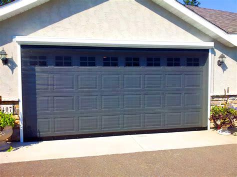 Garage Door Bug Screen Residential Retractable Screens Titan Screen