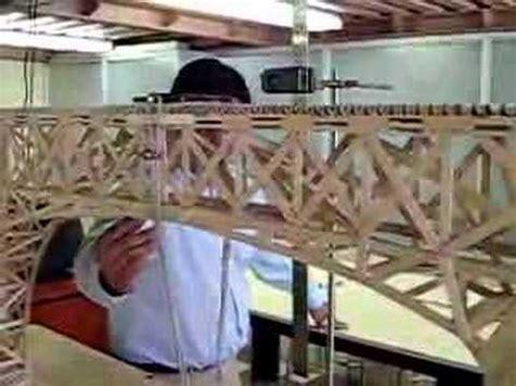 puentes hechos de palillos de elados puente de palitos de helados youtube