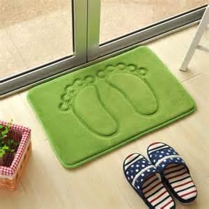 waterproof bath mat 2015 foot shaped bath mat waterproof non slip rebound