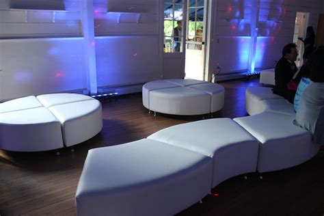 party couches modern interior lounge furniture rental
