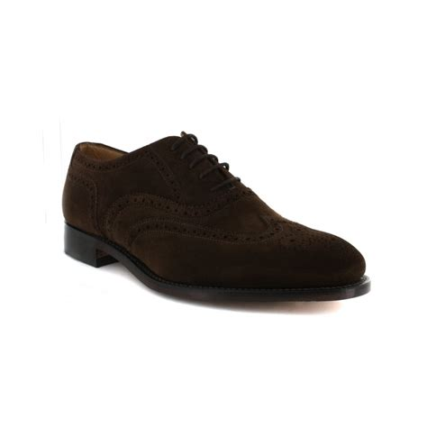 suede shoes mens loake 758ds2 brown suede mens shoe loake from shoes uk