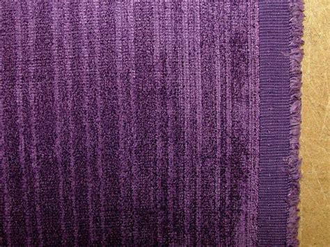 velvet curtain fabric cadbury purple soft pile designer velvet curtain