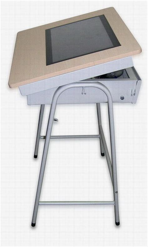 China Touch Tablet E Desk Solution China E Desk Touch Touch Desk L