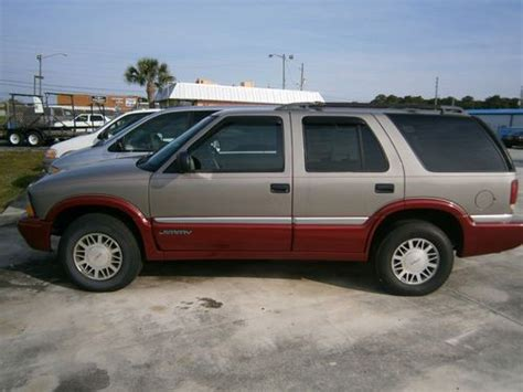 car engine repair manual 1998 gmc jimmy electronic toll collection sell used 1998 gmc jimmy sle 4x4 in fort pierce florida united states for us 5 500 00