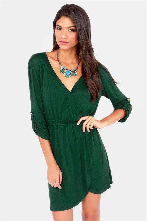 Best Seller Mossy Dress Green Dress Wrap Dress Tulip Dress 33 00