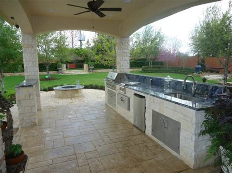 summer kitchen ideas summer kitchen fire pit eclectic patio houston