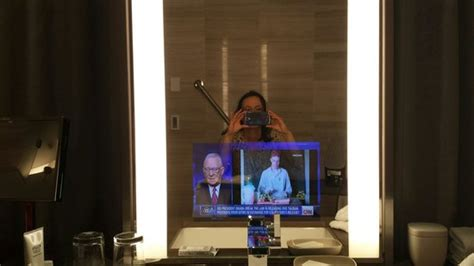 tv for bathrooms reviews tv in bathroom mirror picture of four seasons hotel