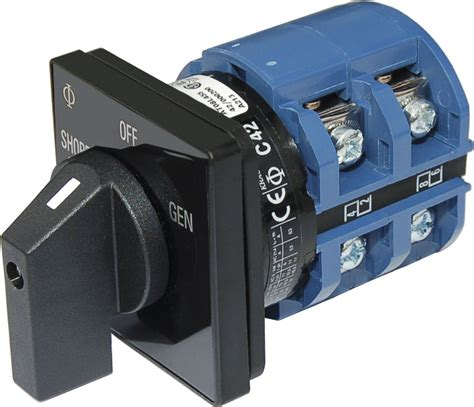Switch Ac ac rotary switch 2 120v ac 65a blue sea systems