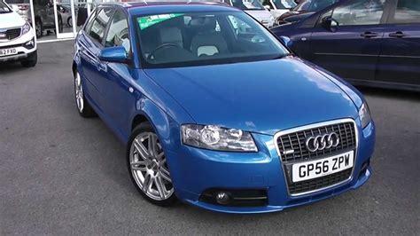 Audi A3 Blau by Used Car Audi A3 Sportback S Line Gp56zpw Blue
