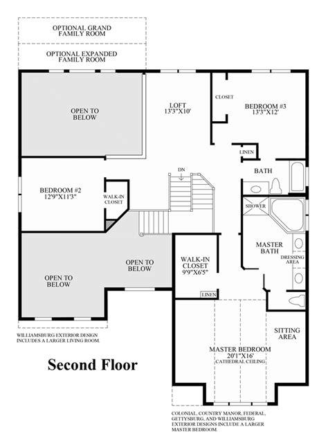 home floor plans richmond va monroe chase the richmond ii home design