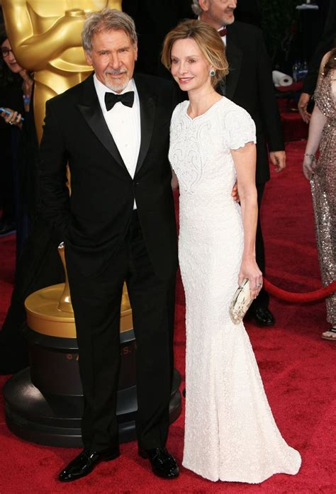 Oscars Carpet Calista Flockhart by Harrison Ford Picture 77 The 86th Annual Oscars