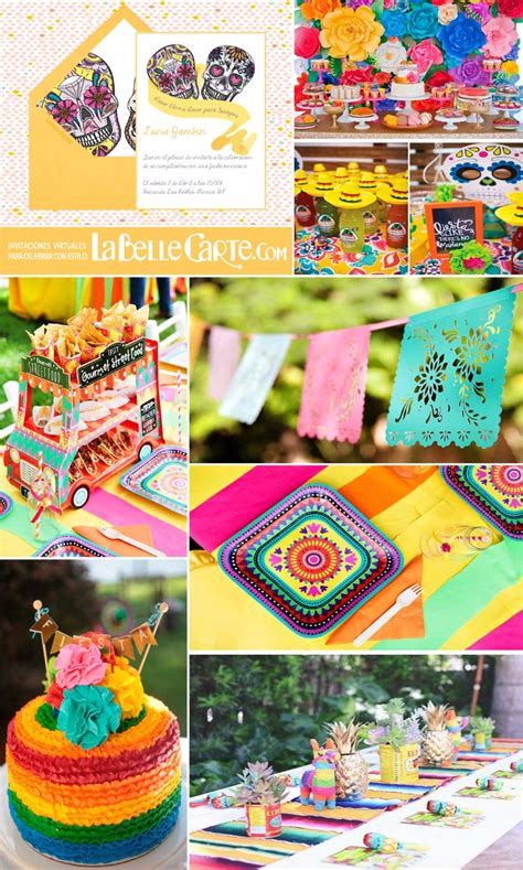 decoracion mexicana invitaciones de cumplea 209 os e ideas para decorar un