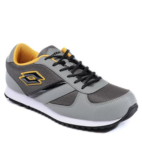 sport shoes for mens lotto gray sport shoe price in india buy lotto gray