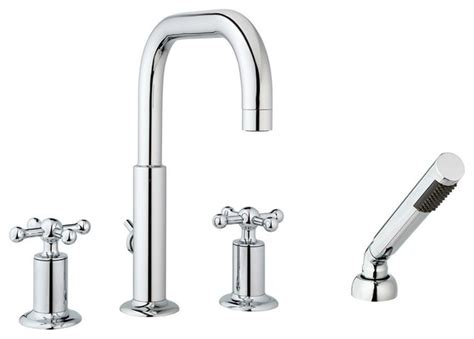 Shower And Tub Faucet Sets by Nature 4 Tub Set With Handheld Shower And Knobs
