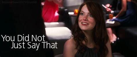 emma stone gif hunt click here for the emma stone blonde hair gif hunt