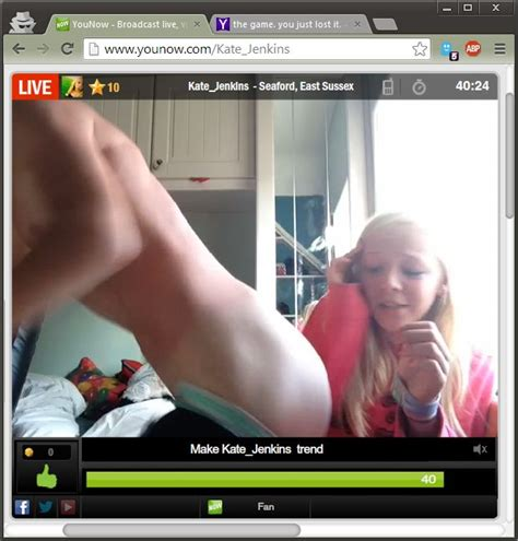 No Younow Someone Post In Lily Watsonx Chat That You R B Random Archive Org