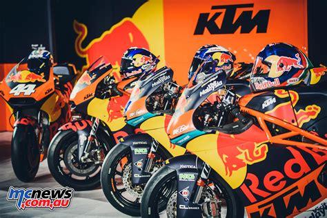 Motorrad Gp News by Ktm Team Launch Motogp Moto2 Moto3 Mcnews Au